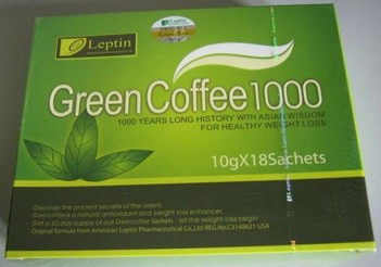 Leptin Green Coffee 1000 (18packs*10g)