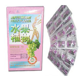 Reduce Weight Fruta Planta Slimming Capsule (Pink box)